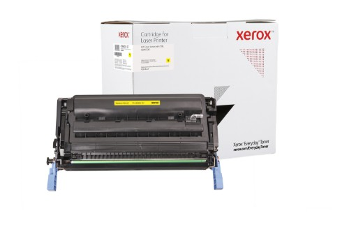 Xerox 006R04157 compatible Toner yellow, 12K pages (replaces HP 644A)