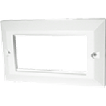 Cablenet 72 3381 White switch plate/outlet cover