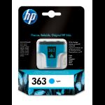HP 363 Origineel Foto cyaan 1 stuk(s)