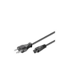Microconnect PE160818 Black 1.8m Power plug type J C5 coupler power cable