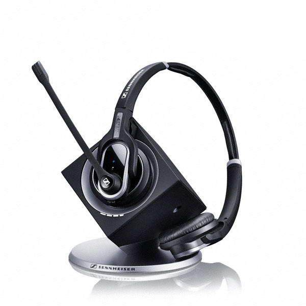 Wireless DECT DW Pro 2 ML/ DW 30 ML - Stereo Headset w/ Base MS Lync For Desk Phone & PC