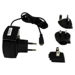 Datalogic 94ACC1381 mobile device charger Indoor Black