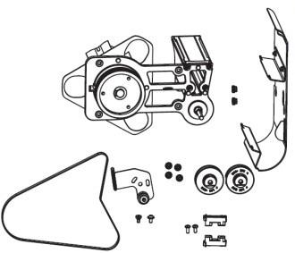 Zebra P1083320-084 pieza de repuesto de equipo de impresión Kit de consumibles Impresora de etiquetas