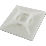 Cablenet SBASE28N cable tie mount White Plastic 100 pc(s)