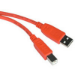 C2G 2m USB 2.0 A/B 2m USB A USB B Male Male Orange USB cable