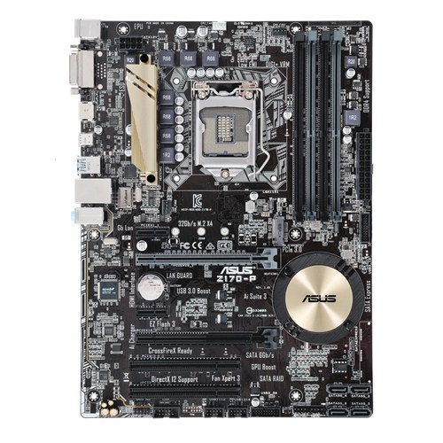ASUS Z170-P Intel Z170 1151 ATX DDR4 CrossFire M.2 RAID