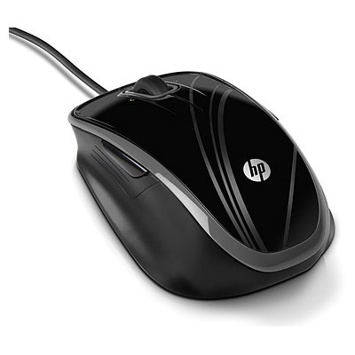HP BR376AA USB Optical 1200DPI Black mice