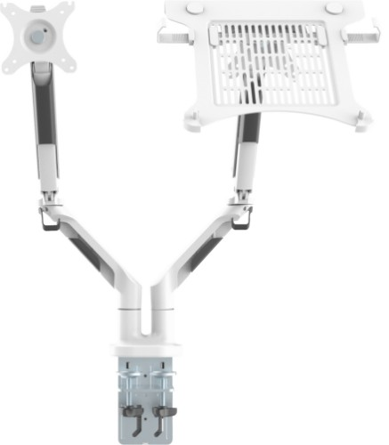 Vision VFM-DAD3+S notebook stand Notebook & monitor arm White
