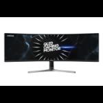 """Samsung C49RG90SSU 124.5 cm (49"""") 5120 x 1440 pixels UltraWide Dual Quad HD QLED Curved Grey"""
