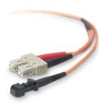 Belkin 3m MTRJ / SC 3m MT-RJ SC Orange fiber optic cable