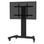 """Newstar PLASMA-M2250BLACK flat panel floorstand 2.54 m (100"""") Portable flat panel floor stand Black"""