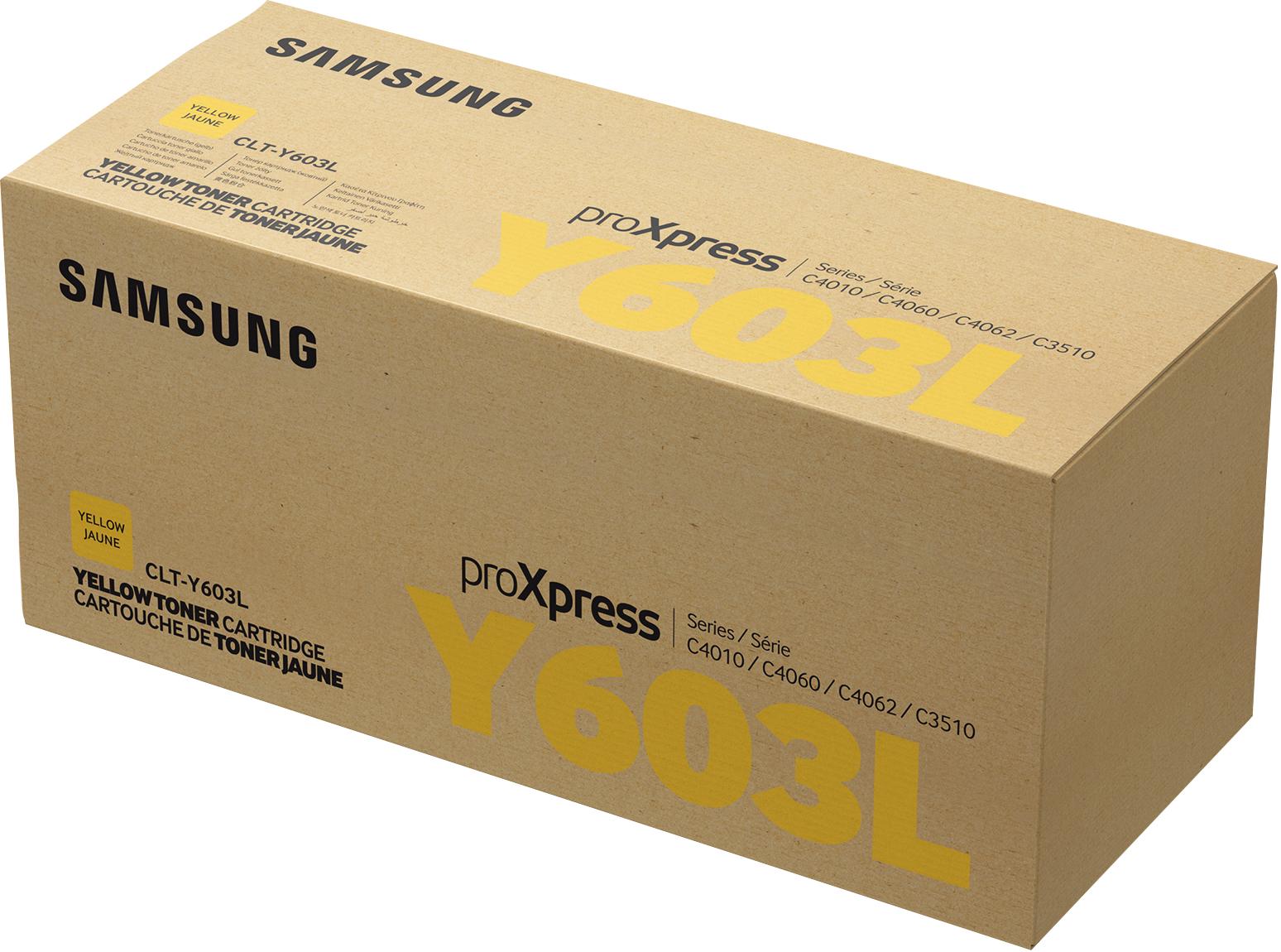 Samsung CLT-Y603L Original Amarillo 1 pieza(s)