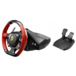 Thrustmaster Ferrari 458 Spider Steering wheel + Pedals Xbox One Black, Red