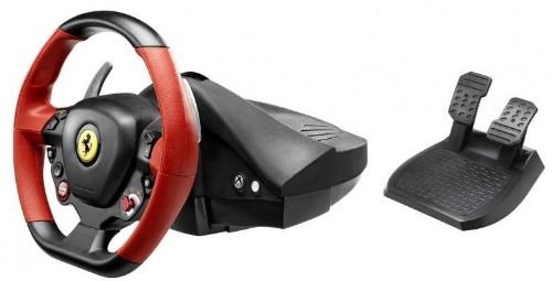 Thrustmaster Ferrari 458 Spider Steering wheel + Pedals Xbox One Black, Red