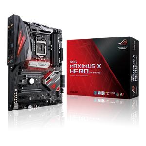 ASUS ROG MAXIMUS X HERO (WI-FI AC) LGA 1151 (Socket H4) ATX