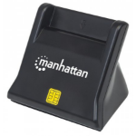 Manhattan 102025 USB 2.0 Black smart card reader