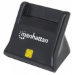 Manhattan 102025 USB 2.0 Black smart card reader