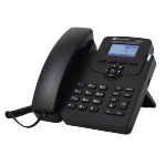 AudioCodes 405HD IP phone Black 2 lines LCD