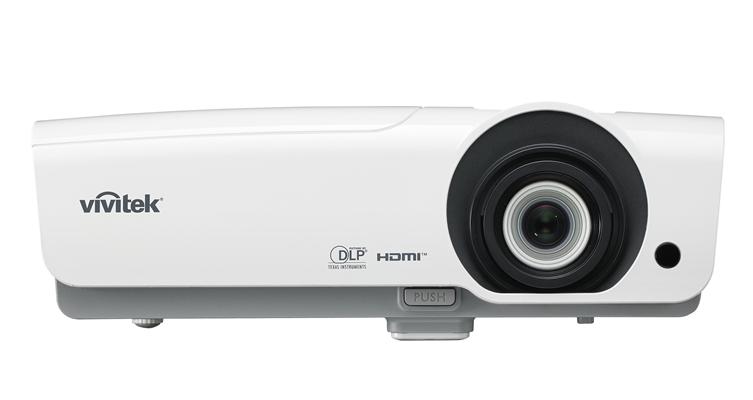 Vivitek DU978-WT data projector 5000 ANSI lumens DLP WUXGA (1920x1200) Desktop projector Grey,White