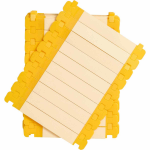 Brady LC-71X9-B7644-0.1 cable marker Yellow Polyester, Polypropylene 100 pc(s)