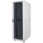 "Intellinet 19"" Network Rack, 26U, 1322 (h) x 600 (w) x 800 (d) mm, IP20-rated housing, Max 1500kg, Flatpack, Grey"