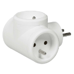 C2G 80804 Indoor 3AC outlet(s) White power extension