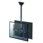 "Newstar NM-C440DBLACK 60"" Black flat panel ceiling mount"