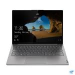 """Lenovo ThinkBook 13s Notebook 33.8 cm (13.3"""") 1920 x 1200 pixels 11th gen Intel® Core™ i5 16 GB LPDDR4x-SDRAM 256 GB SSD Wi-Fi 6 (802.11ax) Windows 10 Pro Grey"""