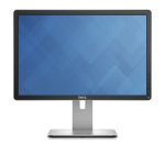 "DELL P2016 19.5"" HD IPS Matt Black computer monitor LED display"