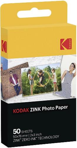 KODAK ZINK PHOTO PAPER INSTANT PICTURE FILM 50 X 76 MM 50 PC(S)