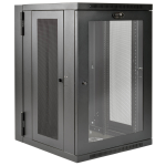 Tripp Lite SRW18USDPG rack 249.1 lbs (113 kg) Wall mounted rack 18U Black