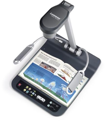 Lumens PS752 document camera USB 2.0 Black,Grey