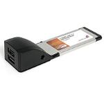 StarTech.com 2 Port ExpressCard Laptop USB 2.0 Adapter Card