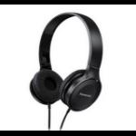 Panasonic RP-HF100E Negro Supraaural Diadema auricular dir