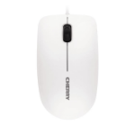 CHERRY MC 1000 Corded Mouse, Pale Grey, USB