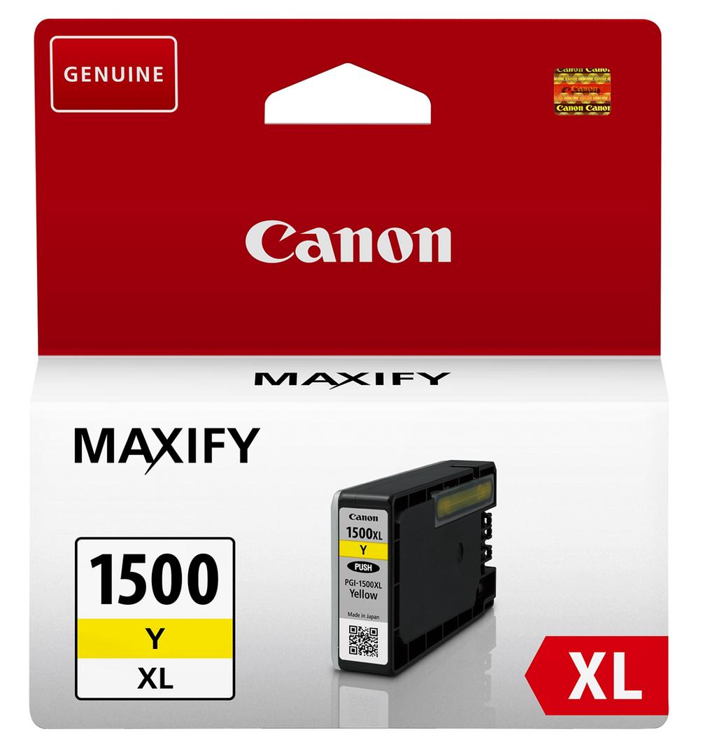 Canon PGI-1500XL Y Original Amarillo 1 pieza(s)