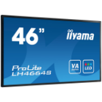 "iiyama LH4664S-B1 Digital signage flat panel 46"" LED Full HD Black signage display"