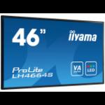"iiyama LH4664S-B1 46"" LED Full HD Black public display"