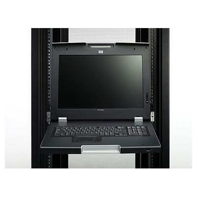 TFT7600 Rackmount Keyboard 17in UK Monitor