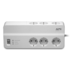 APC PM6-GR surge protector 6 AC outlet(s) 230 V 2 m White