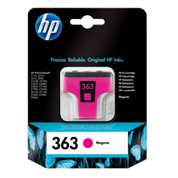 HP C8772EE#301 (363) Ink cartridge magenta, 370 pages, 3ml