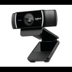 Logitech C922 Pro Stream 1920 x 1080pixels USB Black