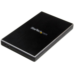 "StarTech.com USB 3.1 Gen 2 (10 Gbps) enclosure for 2.5"" SATA drives S251BMU313"