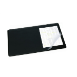 Durable 720201 desk pad Black
