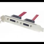 EXC 145080 SATA cable 0.3 m 2x eSATA Silver