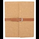 Urban Factory Executive Folio iPad Case with stand (rotates) for iPad 2, New iPad Beige