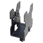 Ergotron 80-107-200 Desk-mounted CPU holder Black CPU holderZZZZZ], 80-107-200