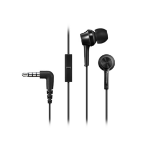 Panasonic RP-TCM105E In-ear Binaural Wired Black mobile headset