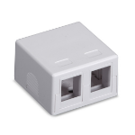 Black Box SMH-2 White outlet box
