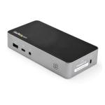 StarTech.com USB-C Dock - Dual Monitor 1080p HDMI Laptop Docking Station - 60W Power Delivery - 1x USB-C, 3x USB-A, Ethernet - Dual Video Display USB 3.1 Gen 1 Type-C Dock - Mac & Windows